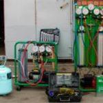 Инструменты и оборудование мастера по ремонту автомобильных кондиционеров