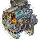 Разборка автомобильного генератора