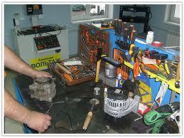 ремонт генератора бош