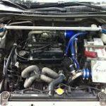 Работа турбодвигателя