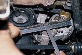 Ремень генератора ремонт