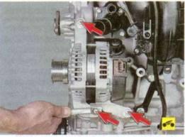 Ремонт генератора форд фокус 2